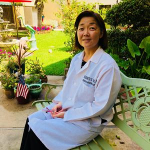 Dr Youn is the podiatrist for residential care patients at Broadview Residential Care senior living.